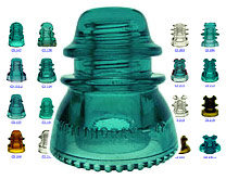 hemingray 45 glass insulator value